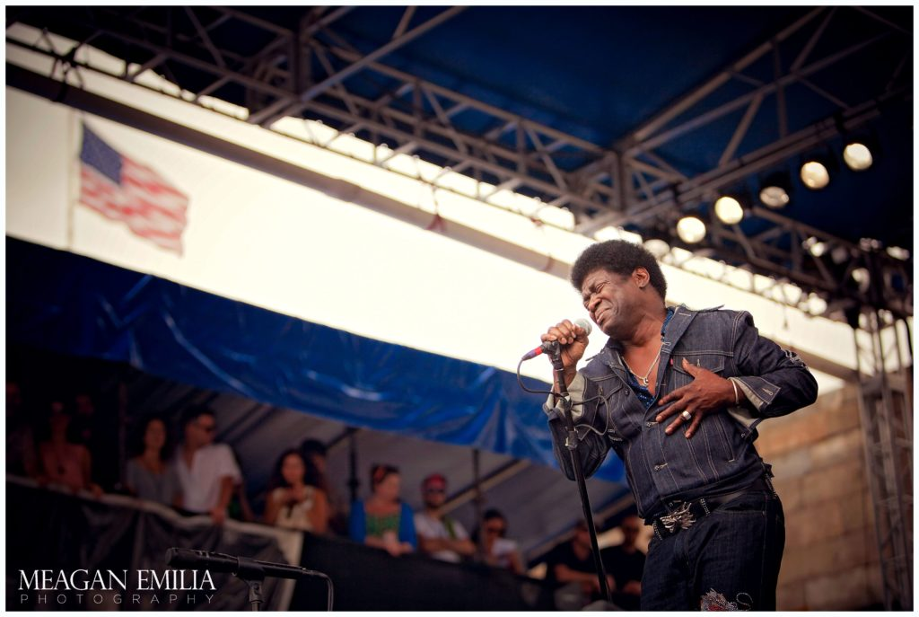 Charles Bradley and His Extraodinaires at Newport Folk Fest 2012, Newport RI.