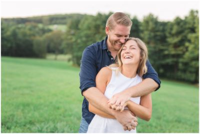 Engagement session at Zukas Hilltop Barn in Spencer, MA
