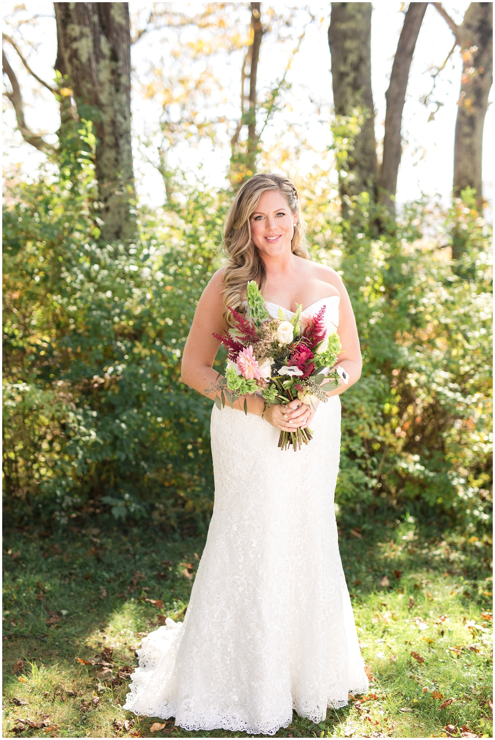 Alison Roy Scenic Fall Mountain Wedding At Cobb Hill Estate