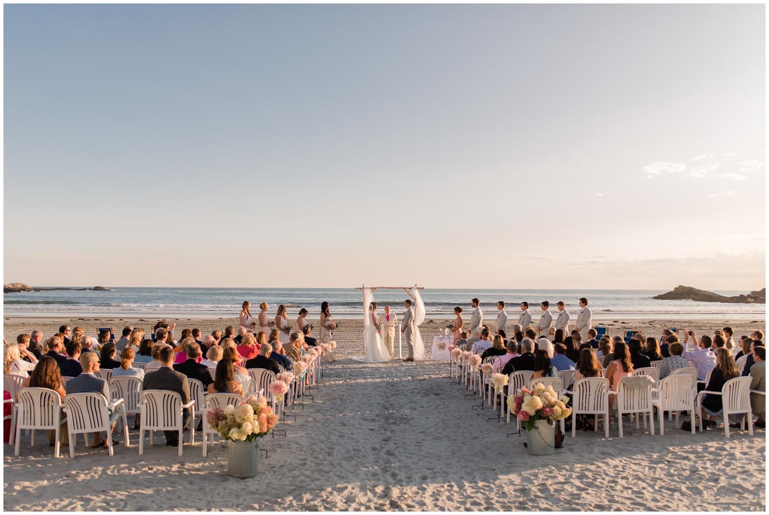 Nina Dave Sunset Beach Wedding At